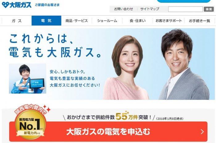 大阪ガスの電気ってどう?料金プランやセット割の評判