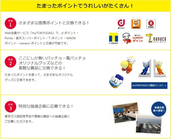 東京ガス パッチョポイント