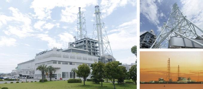 中国電力の発電所